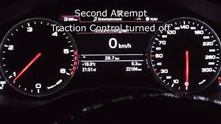 2013 Audi A6 Avant 2 0 TDI 177 HP 0 100 Km H Acceleration Hız Denemesi