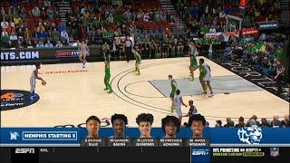 Memphis James Wiseman vs Oregon