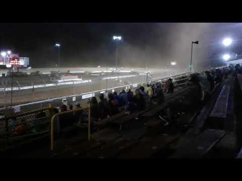 Sprint cars at Lernerville Speedway, August 3, 2018