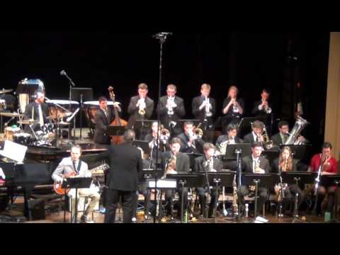 UMASS Jazz Ensemble 1 - We Wish You a Cookin' Christmas