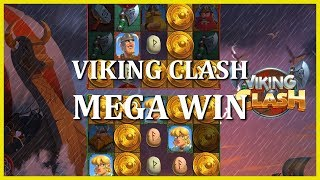 MEGA WIN ON VIKING CLASH - PUSH GAMING