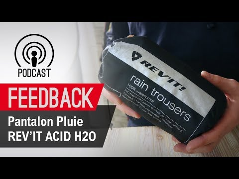 Pantalon Pluie Feedback H2o Youtube Rev'it Acid tshrQdC