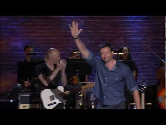 Hugh Jackman Special Guest At A Night Out With Friends Of Richard Marx Youtube