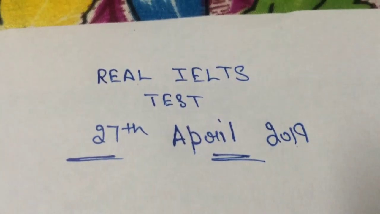Real reading and writing test predictions 27/4/2019 Ielts |The invigilator