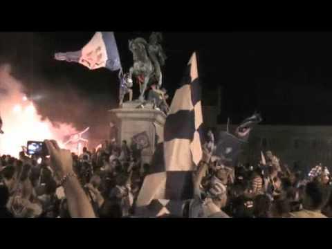Novara Calcio In Serie A! La Festa In Piazza Martiri