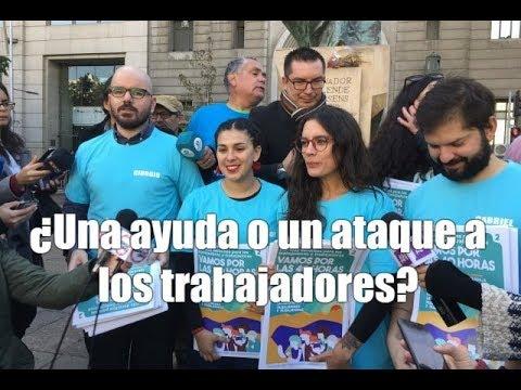 La izquierda chilena propone una jornada laboral de 40 horasиз YouTube · Длительность: 12 мин32 с