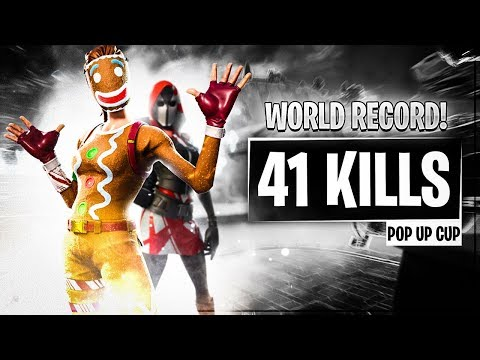 duo pop up cup 41 kills with Mongraal (World Record) | Ghost Issa