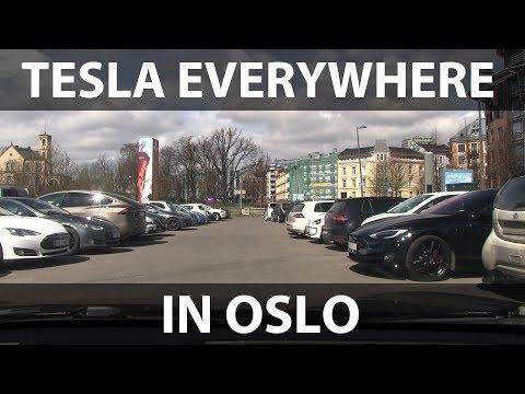 Rambling: Teslas everywhere in Oslo!