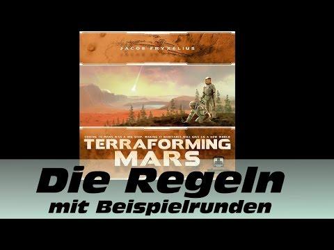 Terraforming Mars - Die Regeln mit Beispielrunden