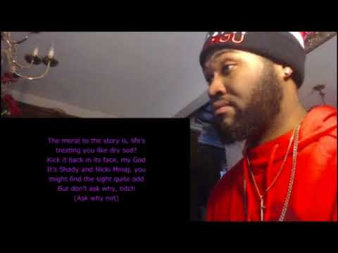 Romans Revenge Lyrics - Nicki Minaj ft Eminem - REACTION/REVIEW