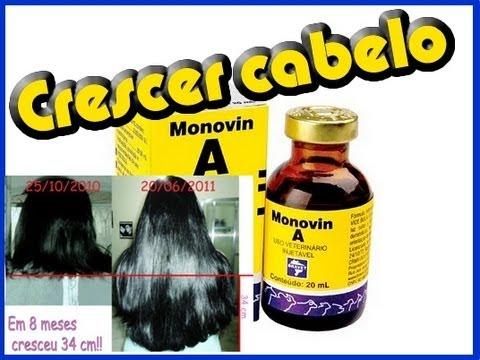 299a7cccd6 Monovin-A para cabelos como usar -- Acelera o crescimento de 4 à 8 cm por  mês