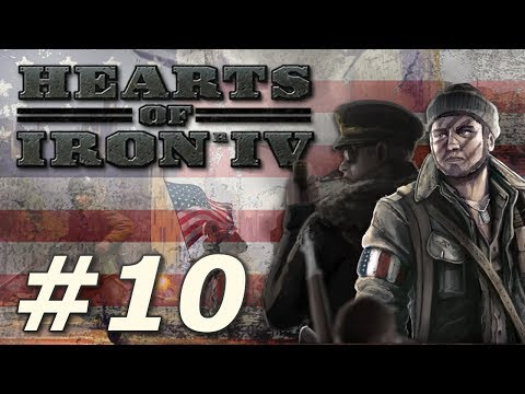 Hearts of Iron IV: Kaiserreich | American Union State - Part 10