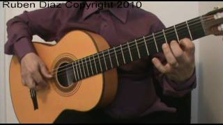 Mediterranean Sundance (with Tabs)  lesson 1 for beginners/ Rio Ancho by Paco de Lucia CFG studio
