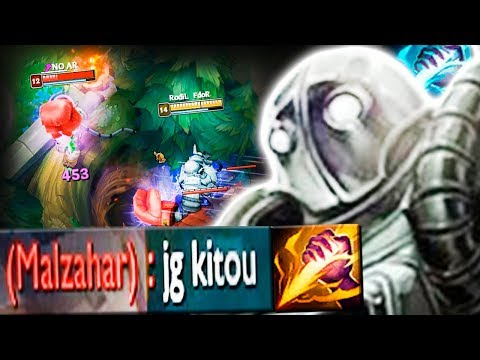 FIZ O JUNGLER INIMIGO QUITAR DE BLITZCRANK JUNGLE, ACREDITAM