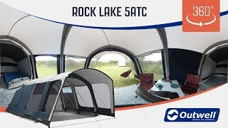 Outwell Rock Lake 5ATC - 360 video (2019)