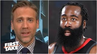 James Harden saved his reputation in Game 7 vs. OKC - Max Kellerman | First Take