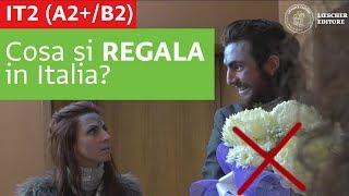 Italiano per stranieri - Cosa si regala in Italia? (A2+/B2)