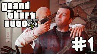 GTA 5 Прохождение Часть #1 Ограбление банка / Франклин и Ламар