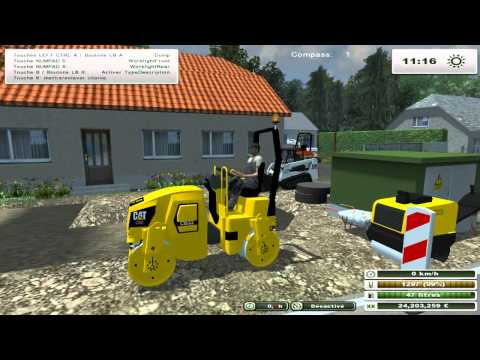 Mini-Engins de chantiers Tests Démonstrations landwirtschafts simulator