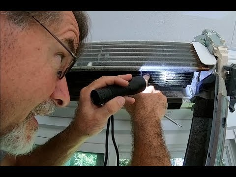 HOW TO CLEAN AND SERVICE MITSUBISHI SPLIT AIR CONDITIONER