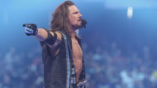 AJ Styles is unsure about his future (Featuring