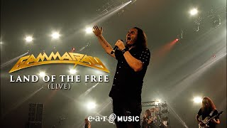 """Gamma Ray """"Land Of The Free"""" - Off. Live Video - New album """"30 Years Live Anniversary"""" out Sep 10"""