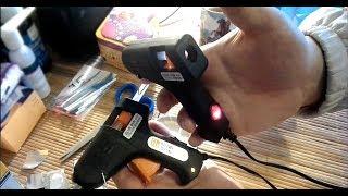 Переделка клеевых пистолетов из Фикс Прайс под питание 9 вольт.