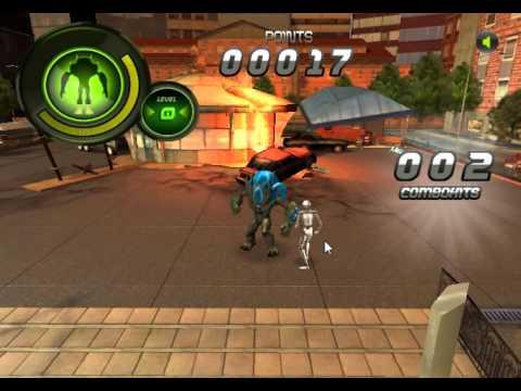 Игры драки, Бен 10 3D против скелетов