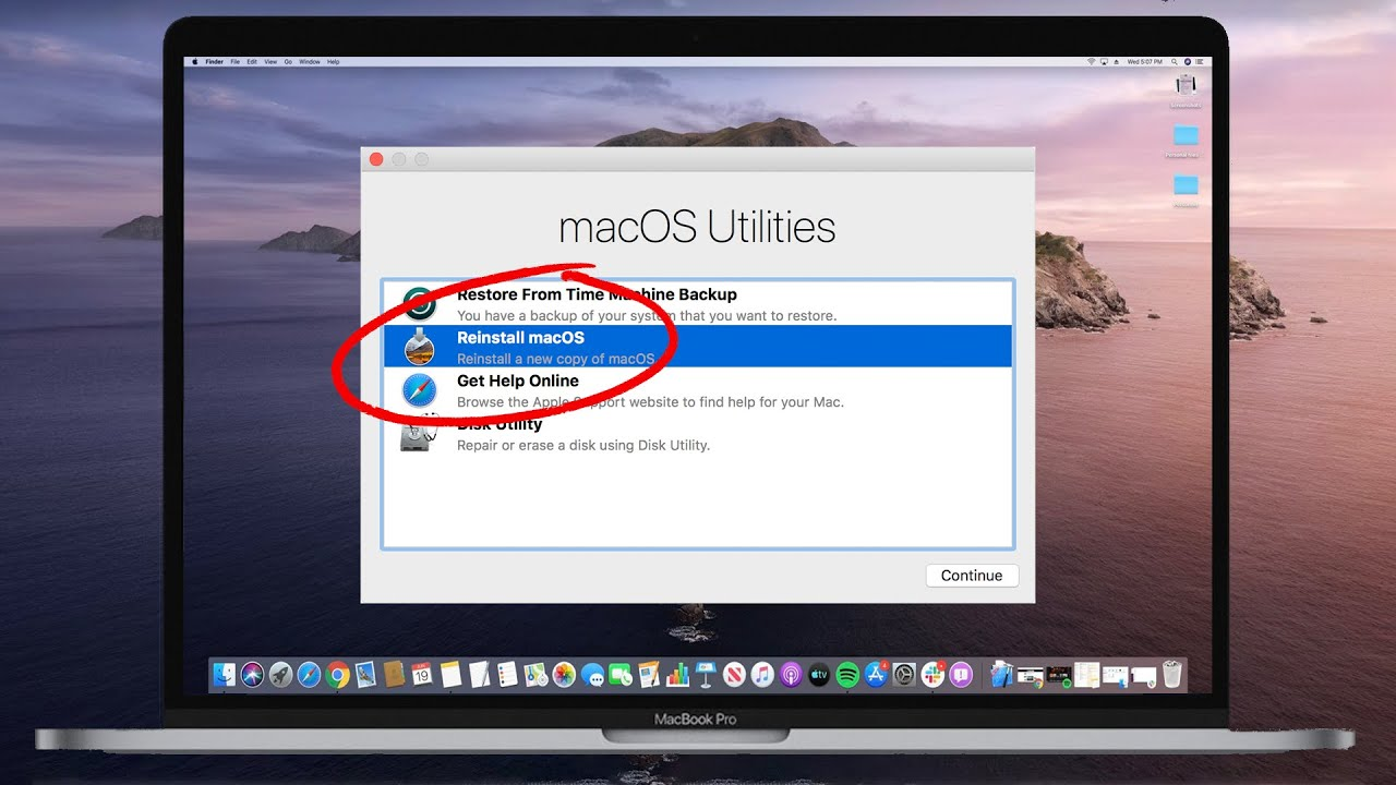 How To Erase And Factory Reset Restore Your Mac 2019 2020 Youtube
