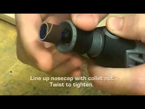 Cap twist nose review ez dremel