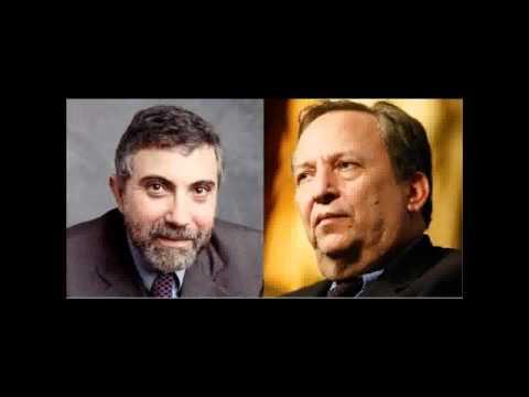 Summers vs Krugman