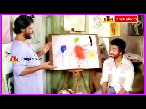 Kamal Haasan & Painter Conversation - In Akali Rajyam Telugu Movie