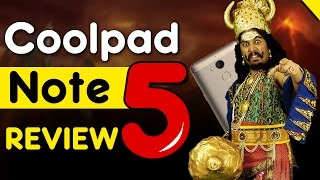 Coolpad Note 5 Review - Surprising