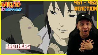 👶 BABY SASUKE IS ADORABLE 👶 | Naruto Shippuden Episodes 451 & 452
