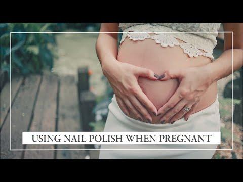 Nail Polish when pregnant I Kia-Charlotta