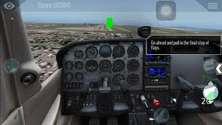 X-PLANE 10 on Iphone.... Rough Landing lol