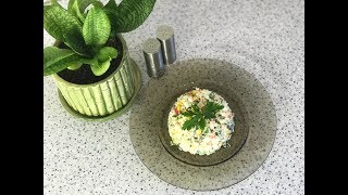 Салат из крабовых палочек. Простой и вкусный рецепт пошагово.