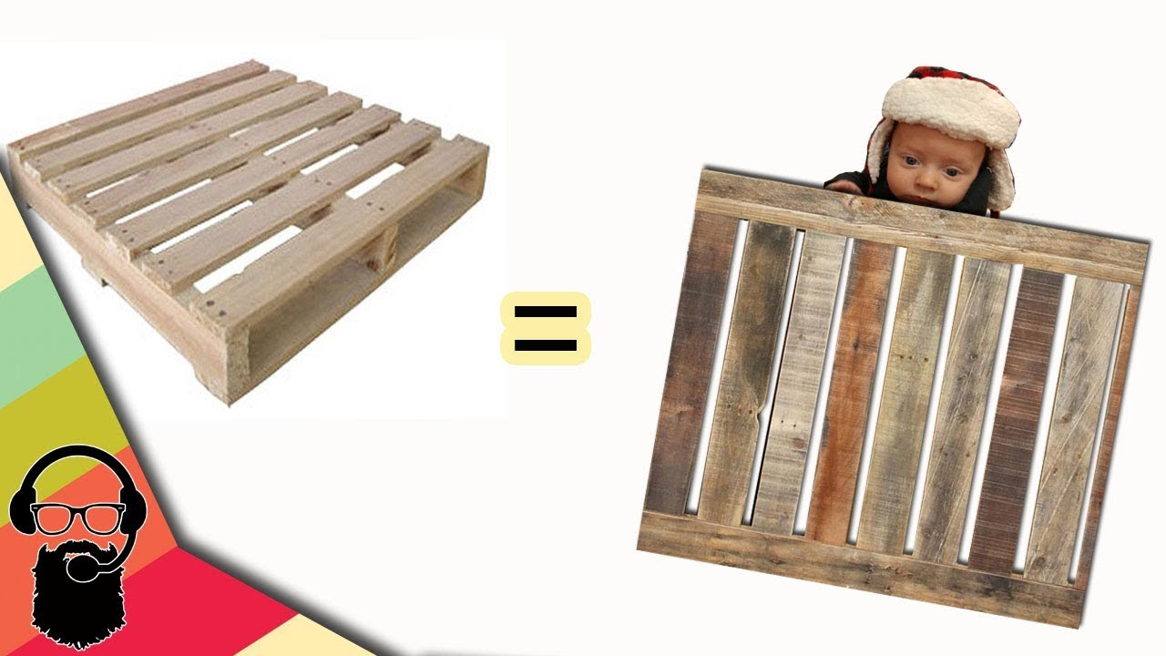 how to make a gate out of pallets