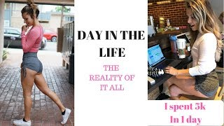 Day In The Life Of A 20 Year Old Entrepreneur | Online Fitness Coach