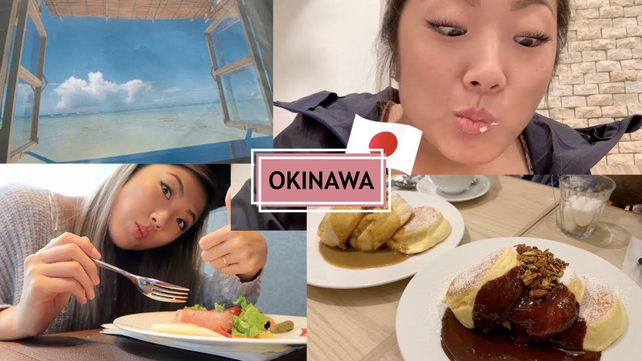 OKINAWA MUKBANG, HAPPY PANCAKES, HOT SPRING, TERRACE