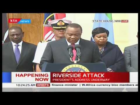 President Uhuru: \'We have dealt with the threat decisively, all terrorists neutralized\'