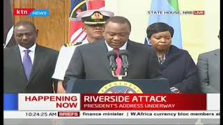 President Uhuru: 'We have dealt with the threat decisively, all terrorists neutralized'