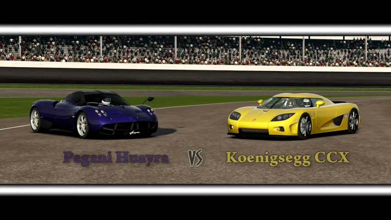 forza motorsport 4 battle - s1.e10: pagani huayra vs koenigsegg ccx