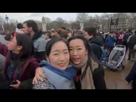 Vlog - London Day 7&8 - Buckingham Palace | Chinatown | New Year's House party