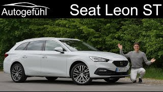 all-new Seat Leon Sportstourer Xcellence FULL REVIEW 2020 Leon ST Estate 1.5 TSI
