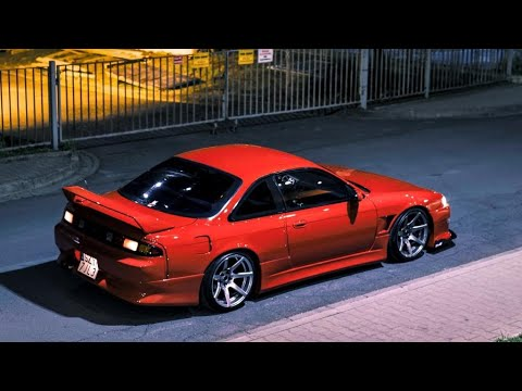 Nissan S14 200SX   Lady In Red   4K