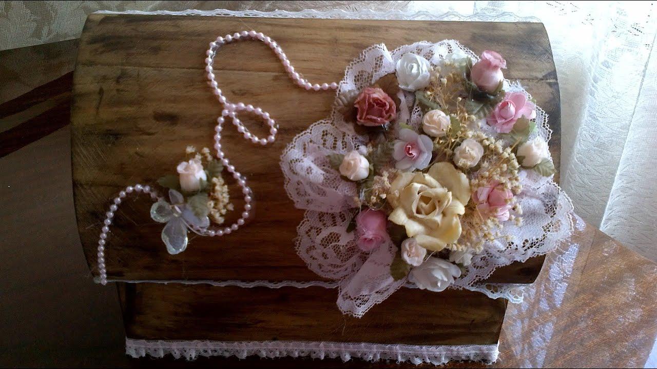 Cajas Decorativas Estilo Vintage