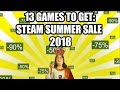 13 Games to Get on the Steam Summer Sale 2018 - Under 20 USD