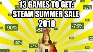 13 Games to Get on the Steam Summer Sale 2018 - Under 20 USD