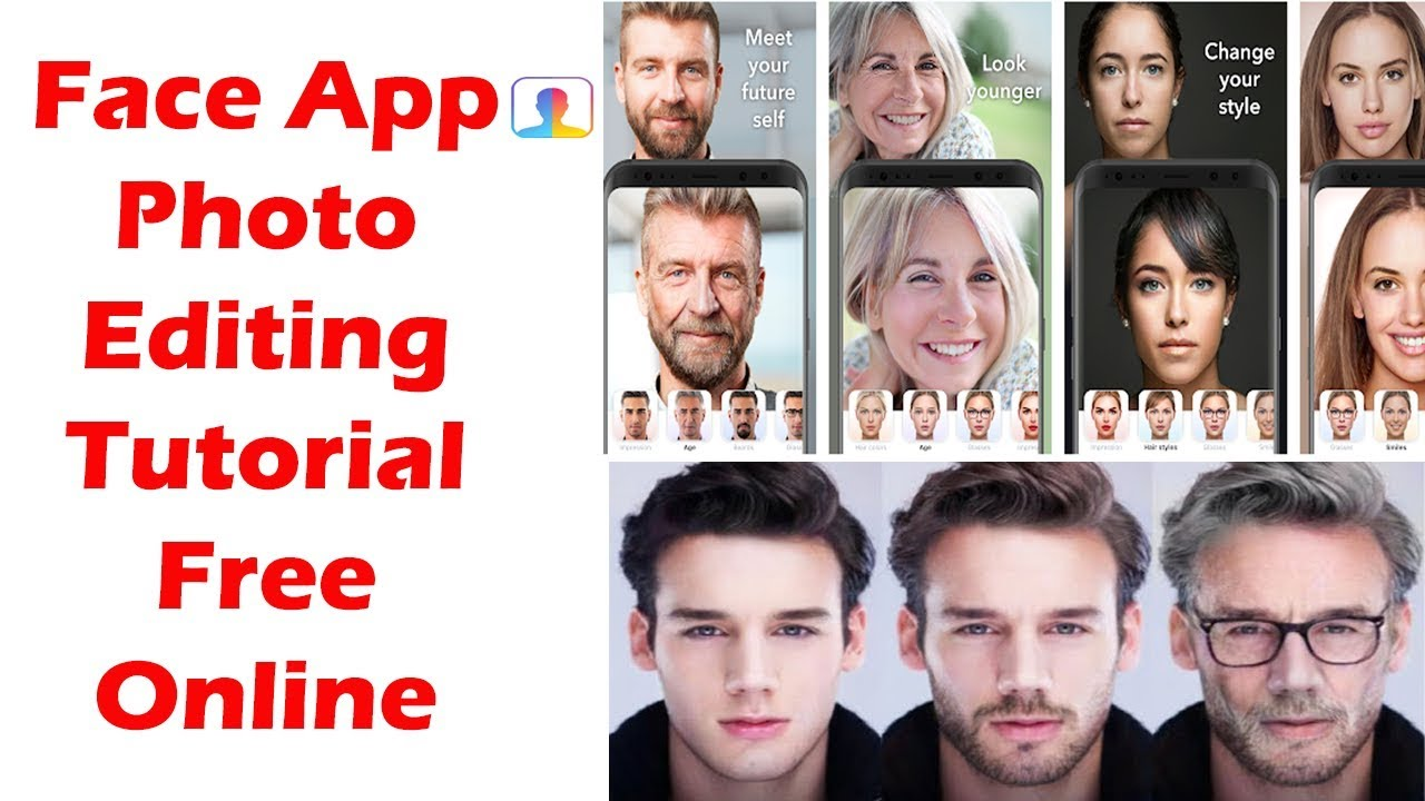 How To Use Face App Online Free 2019 Trending Faceapp Photo Editing Tutorial Faceapp Challenge Youtube